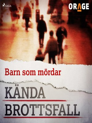 cover image of Barn som mördar