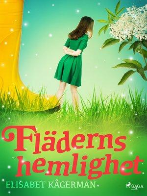 cover image of Fläderns hemlighet