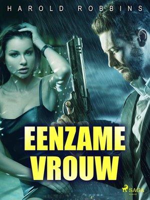 cover image of Eenzame vrouw