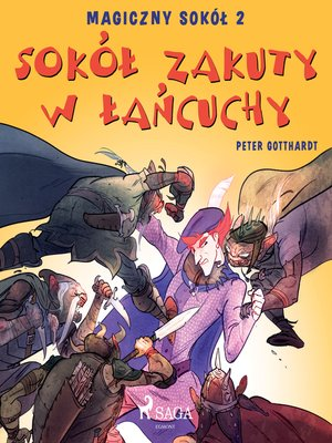 cover image of Magiczny sokół 2--Sokół zakuty w łańcuchy