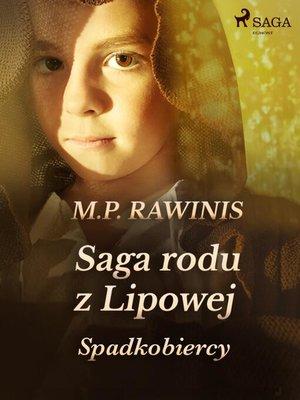 cover image of Saga rodu z Lipowej 3
