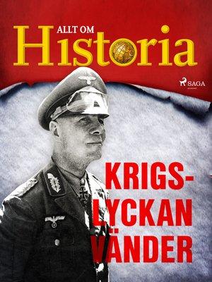 cover image of Krigslyckan vänder