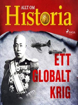 cover image of Ett globalt krig