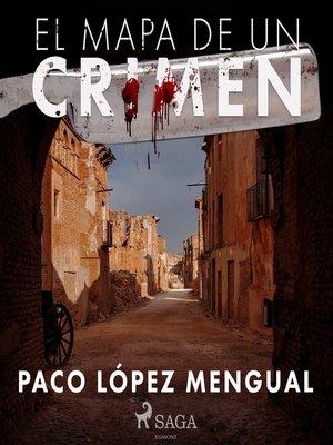 cover image of El mapa de un crimen