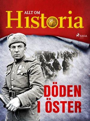 cover image of Döden i öster