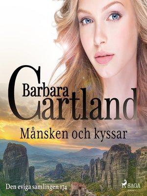 cover image of Månsken och kyssar