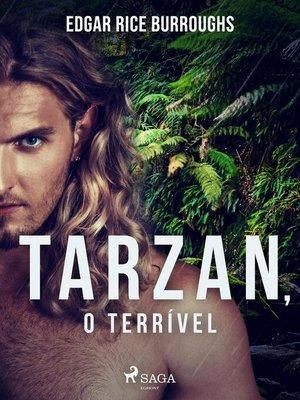 cover image of Tarzan, o terrível