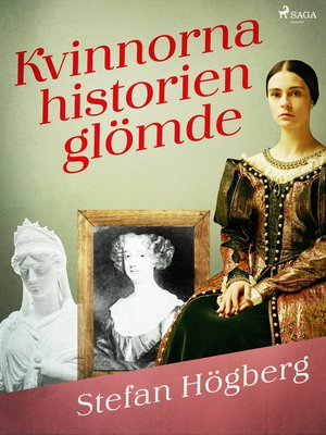 cover image of Kvinnorna historien glömde
