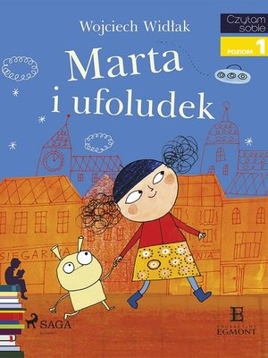 cover image of Marta i ufoludek
