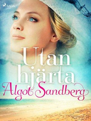 cover image of Utan hjärta