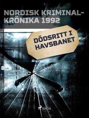 cover image of Dödsritt i havsbanet