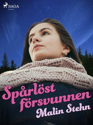 cover image of Spårlöst försvunnen
