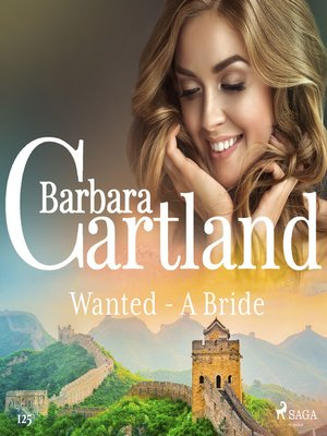 cover image of Wanted--A Bride (Barbara Cartland's Pink Collection 125)