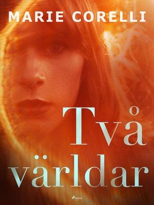 cover image of Två världar