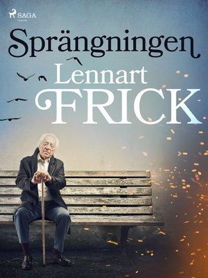 cover image of Sprängningen