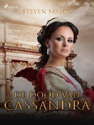 cover image of De dood van Cassandra