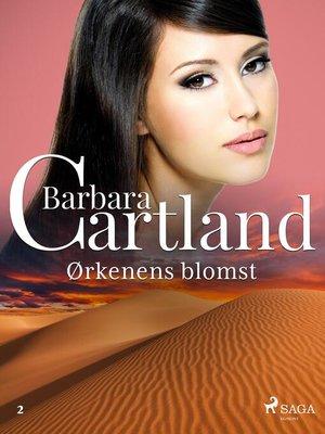cover image of Ørkenens blomst