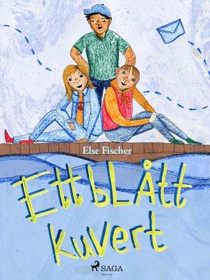 cover image of Ett blått kuvert
