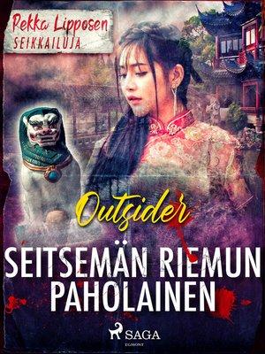 cover image of Seitsemän riemun paholainen