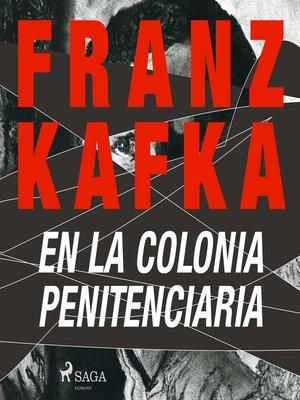 cover image of En la colonia penitenciaria