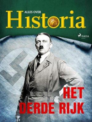 cover image of Het derde Rijk