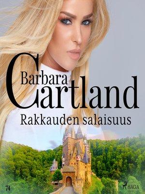 cover image of Rakkauden salaisuus