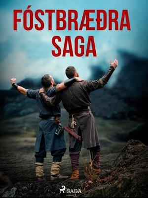 cover image of Fóstbræðra saga