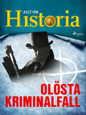 cover image of Olösta kriminalfall
