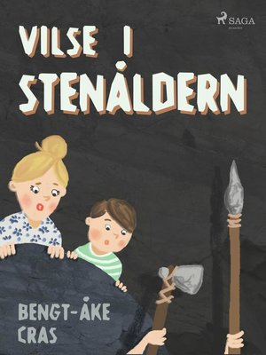 cover image of Vilse i stenåldern