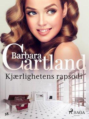 cover image of Kjærlighetens rapsodi