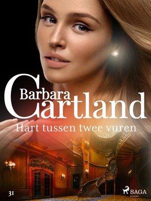 cover image of Hart tussen twee vuren