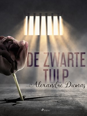 cover image of De zwarte tulp