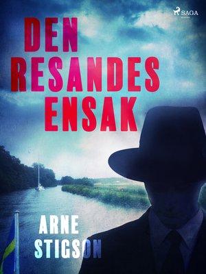 cover image of Den resandes ensak