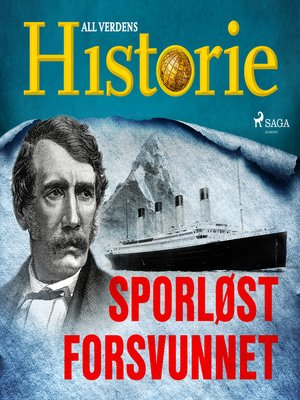 cover image of Sporløst forsvunnet