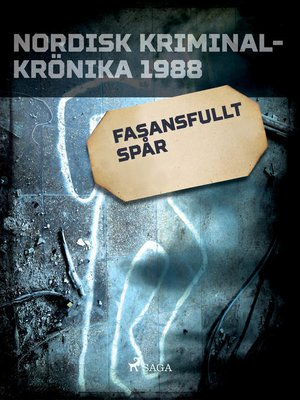 cover image of Fasansfullt spår