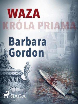 cover image of Waza króla Priama