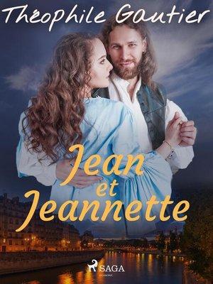 cover image of Jean et Jeannette