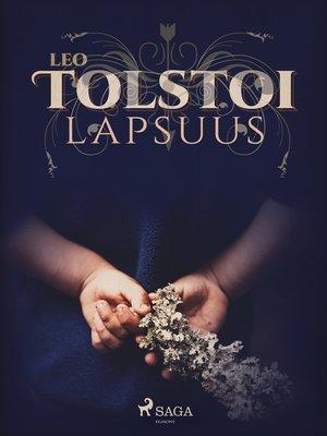 cover image of Lapsuus
