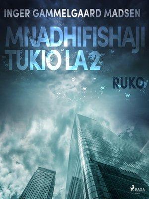 cover image of Mnadhifishaji Tukio la 2