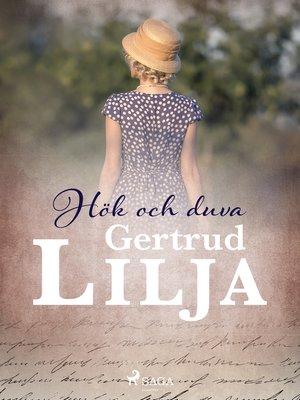 cover image of Hök och duva