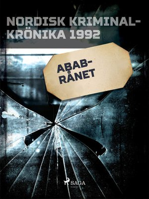 cover image of ABAB-rånet