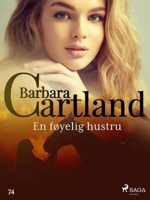 cover image of En føyelig hustru