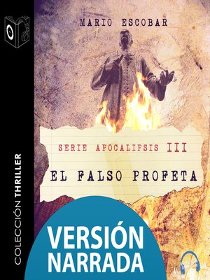 cover image of Apocalipsis--III--El falso profeta--NARRADO