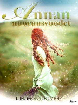 cover image of Annan nuoruusvuodet