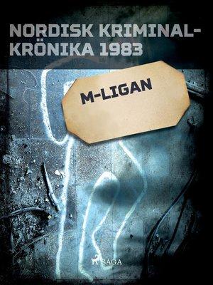 cover image of M-ligan