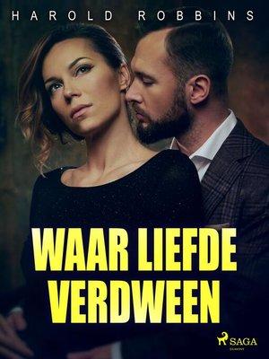 cover image of Waar liefde verdween