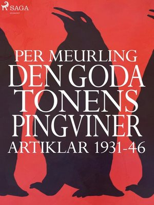 cover image of Den goda tonens pingviner