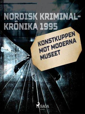 cover image of Konstkuppen mot Moderna museet