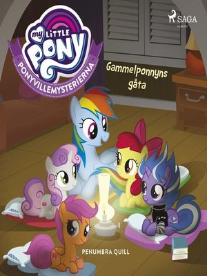 cover image of Ponyvillemysterierna 3--Gammelponnyns gåta