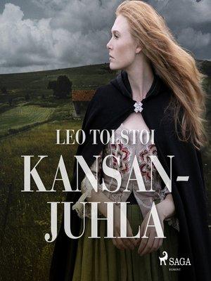cover image of Kansanjuhla